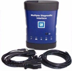 Scanner GM MDI utilizado para programar a direção elétrica do GM Cruze