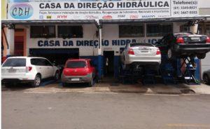 CASA DA DIREÇÃO HIDRÁULICA